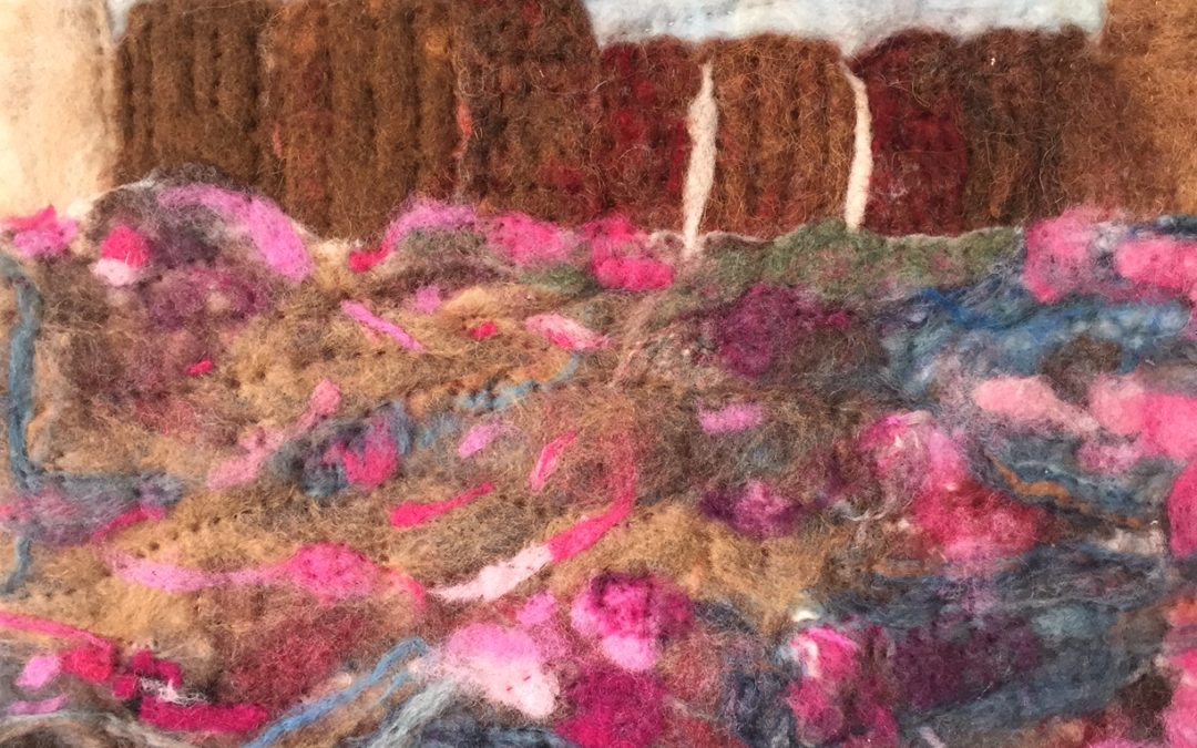 Fiber Art at The Gallery in Malden
